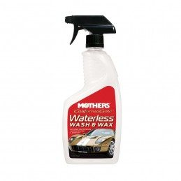 Mothers Waterless Wash & Wax - Lavar sem água (Quick Detailer)