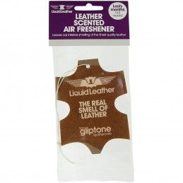 Gliptone Leather Scent Air Freshner Ambientador