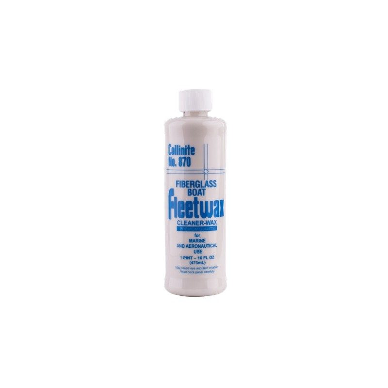 Collinite  Fiberglass Liquid Fleetwax 870 - cera para gelcoat